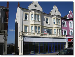 This seafront abandoned building was refurbished and converted into 5 apartments with magnificent views over the Bristol Channel.