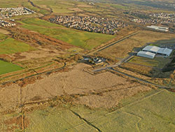 Parc Eirin, industrial development land with access to M4 motorway.